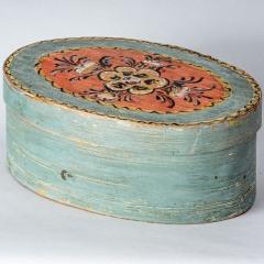 7-8190-A-Swedish-Svepask-Box-in-Original-Blue-Paint-with-Kurbits-Flower-C.-1870-10