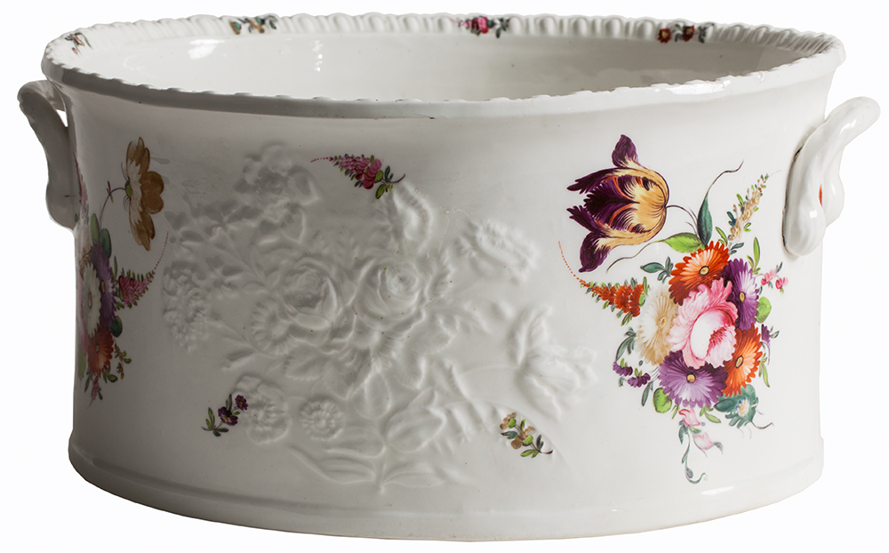 Antique Coalport Tub Dawn Hill Swedish Antiques