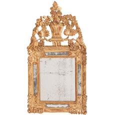 Luis xvi gilt mirror Dawn Hill Swedish Antiques
