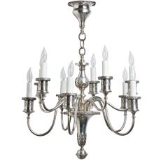 silver chandelier dawn hill swedish antiques