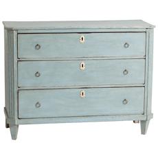 dutch blue chest Dawn Hill Swedish Antiques