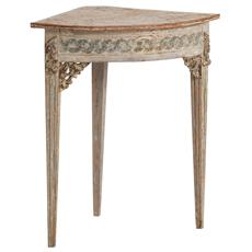antique swedish corner table Dawn Hill Swedish Antiques