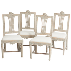 swedish antique lindome guild chairs