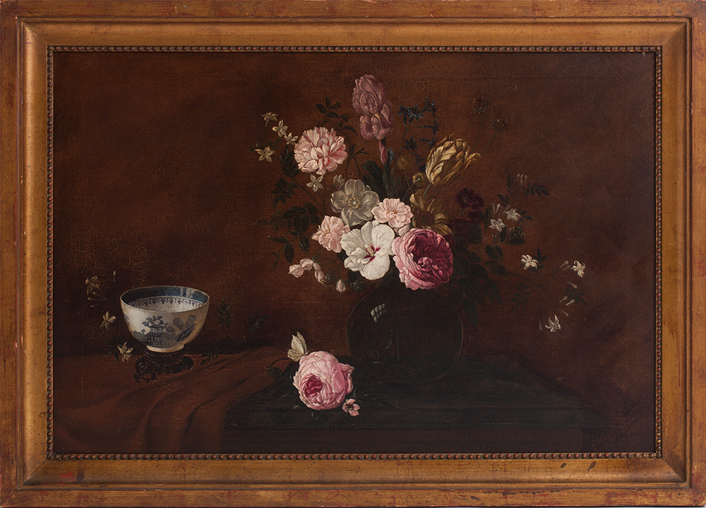 Rose Painting Dawn Hill Swedish Antiques