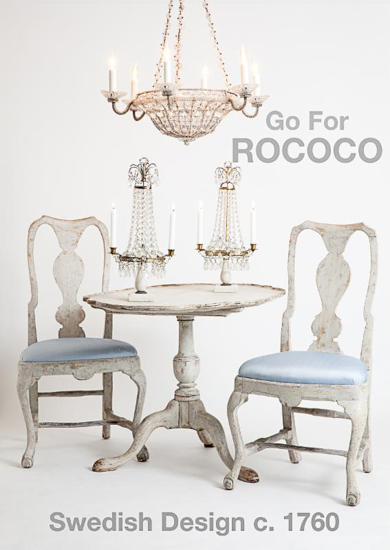 go for rococo dawn hill Swedish antiques