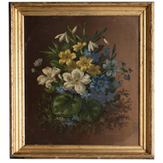 english oil of flowers dawn hill swedish antiques