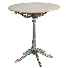 Dawn Hill Swedish Antiques French Antique Cast Iron Table