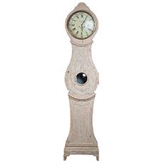 A Swedish Rococo Period Tall Case Clock, circa 1760