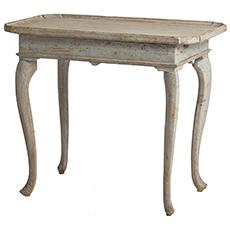 An Antique Swedish Rococo Period Tray Table, circa 1770
