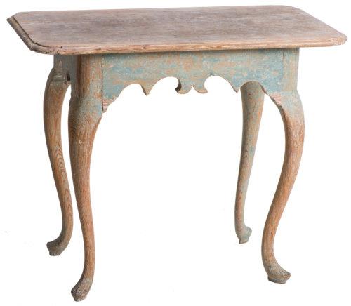 A Swedish Antique Rococo Period Console Table, circa 1760