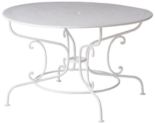 A French Wrought Iron Garden Table Circa 1900