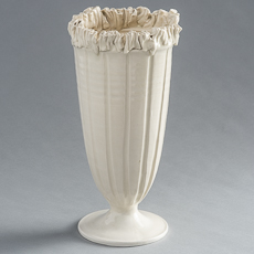 frances palmer Narrow Ruffle Vase