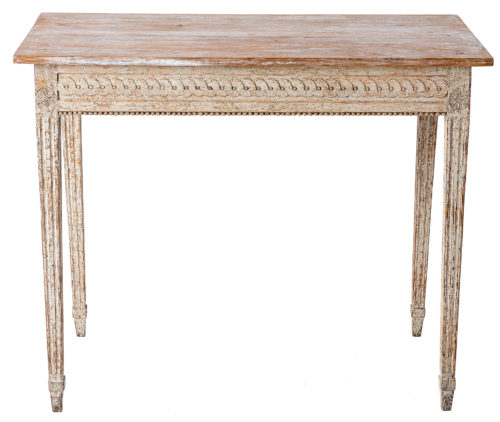 A Late Gustavian Console Table from the North of Sweden, Circa 1820