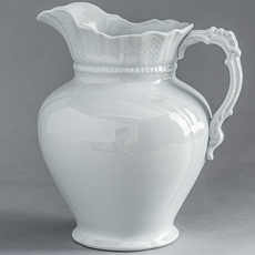 D-1357 Royal Ironstone Pitcher circa 1870