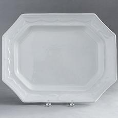 D-1522_Large Ironstone Platter, England, Circa 1850
