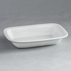 D-1795_Small Rectangular Ironstone Dish by Meaken