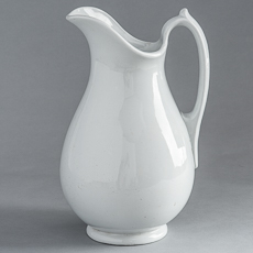D-???? Wedgwood Ironstone Pitcher