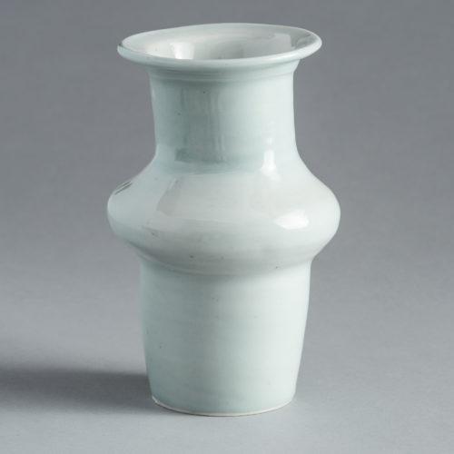 fp-13_MIddle Rib Celadon Glazed Vase