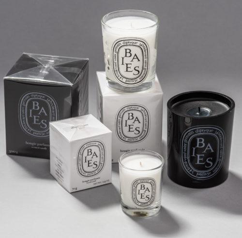 diptyque bais candle family