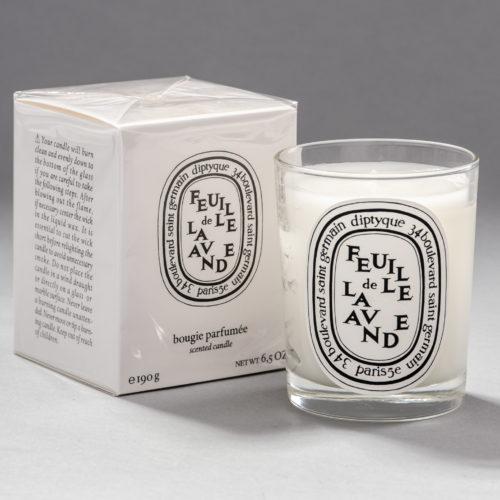 Feuille de Lavande / Lavender Leaf diptyque scented candle