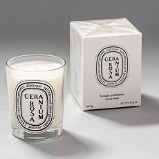 Géranium Rosa / Rose Geranium candle