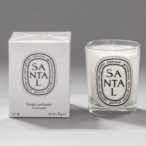 Santal / Sandalwood scented candle