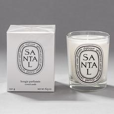 Santal / Sandalwood scented candle