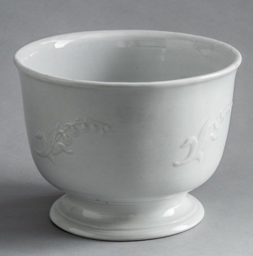 D-1234 Punch Bowl with Lily of the Valley Motif