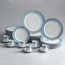 D-1819_Set of Dishes from the Société des Bains de Mer of Monte Carlo