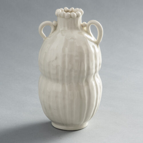 FP-28 H&G Loop Vase with Pinched Middle