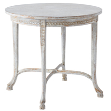 Swedish Cloven Foot Table in the Manner of Ephraim Ståhl, circa 1860-80